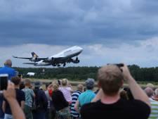 Ook vijfde Boeing 747 onder grote belangstelling vertrokken vanaf Twente Airport