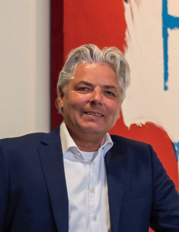 Jeroen de Bekker, directeur VB Bouw Holding in Eindhoven.