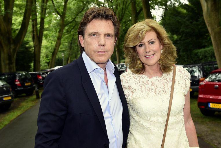 John de Mol en zijn echtgenote Els. Beeld Daniel Kroll