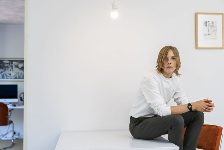 Marieke Lucas Rijneveld. Beeld BELGAIMAGE