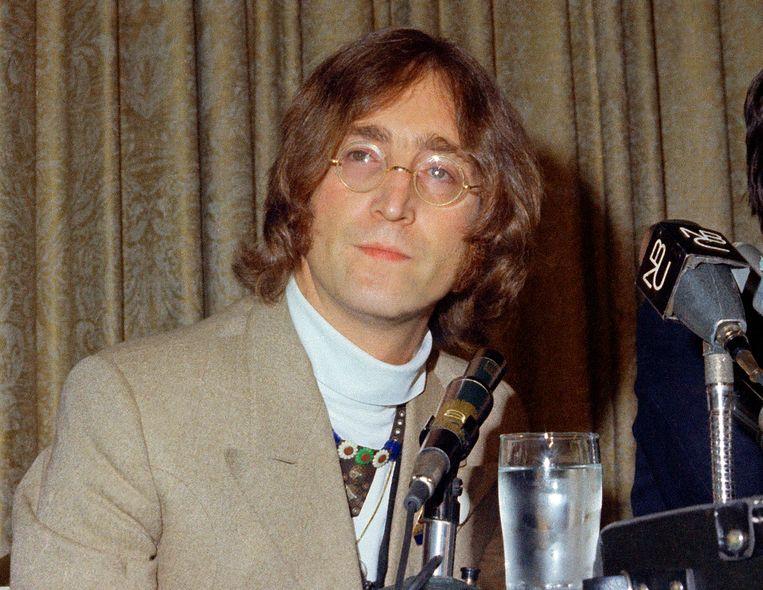 1971 was onder meer het jaar dat toen ex-Beatle John Lennon de wereldvrede op de agenda wou zetten.  Beeld AP