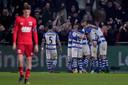 De Graafschap ontsnapt na een gelukkige, late gelijkmaker tegen AZ (1-1) afgelopen weekend.
