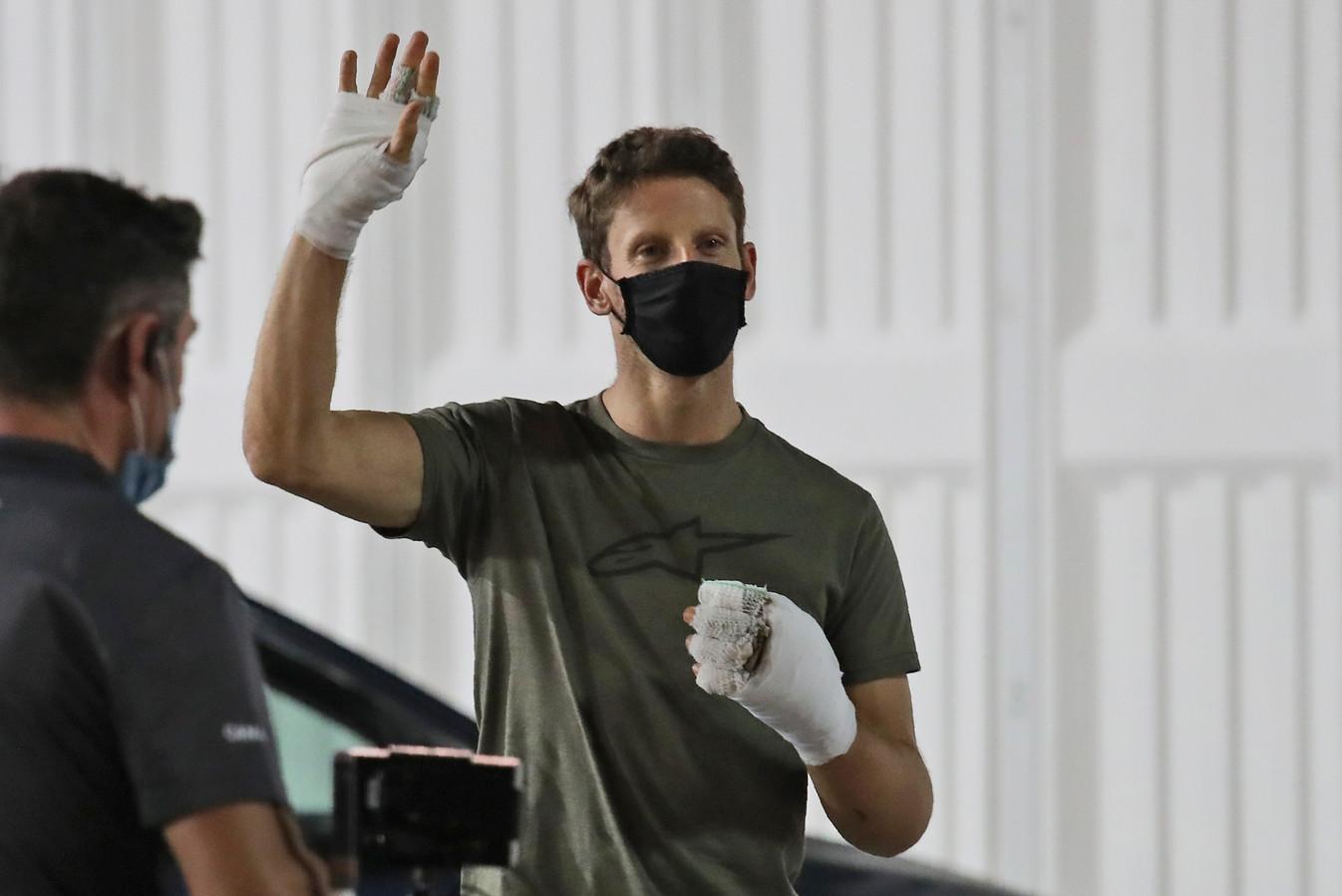 Romain Grosjean op archiefbeeld.