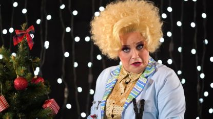 Ruth Beeckmans is onherkenbaar als Angèle in 'Samson & Gert'