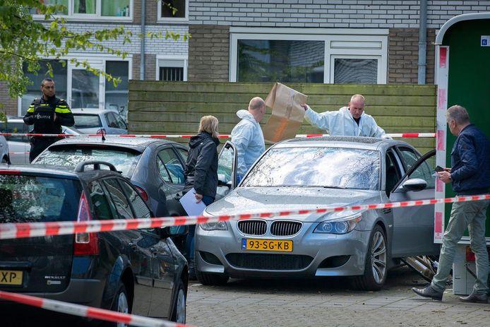 Onderzoek na de liquidatie van Samir Erraghib in IJsselstein.