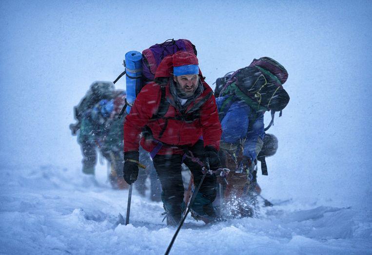 Beeld uit Everest. Beeld .