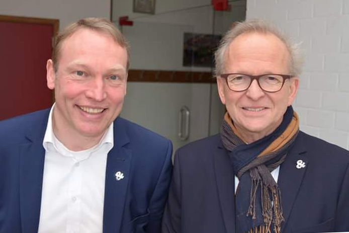 Geert Hermans en Pierre Claeys.