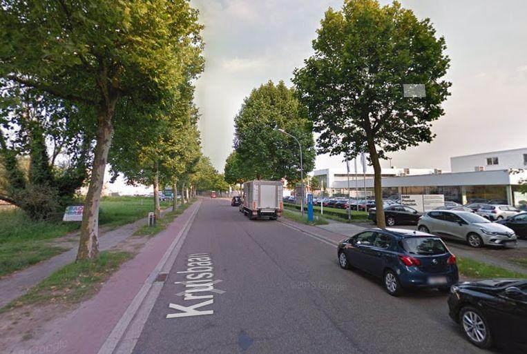 Kruisbaan in Mechelen.