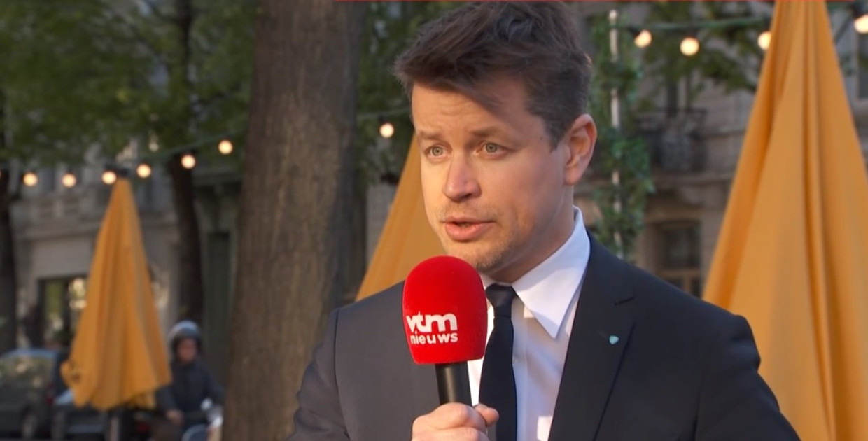 Woordvoerder Matthias De Caluwe van Horeca Vlaanderen. Beeld VTM NIEUWS
