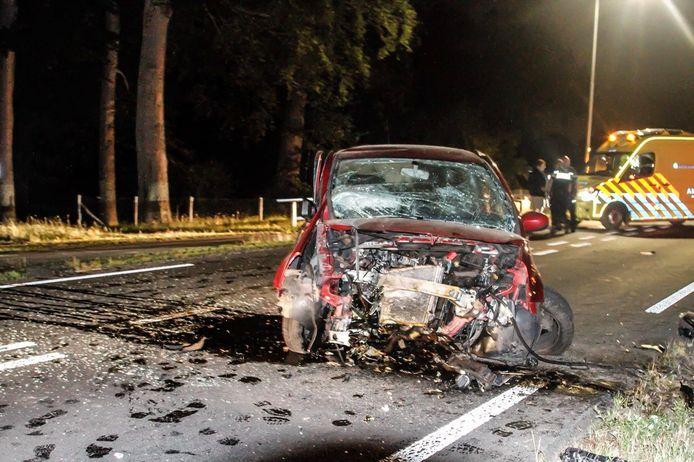 Ongeval in Putten.