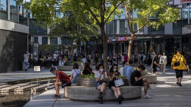 Groei van Chinese winkelverkopen en industrie flink afgezwakt