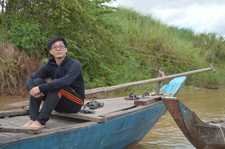 Vin Kann werd geadopteerd door een Cambodjaans gezin. 'Ik lieg vaak over wie ik ben.'  Beeld Ate Hoekstra