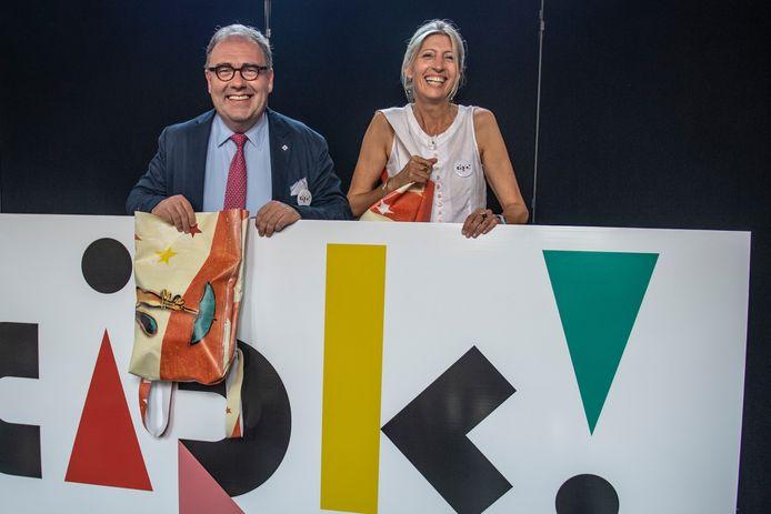 Christoph D'Haese en Ilse Uyttersprot bij de voorstelling van Cirk deze zomer.