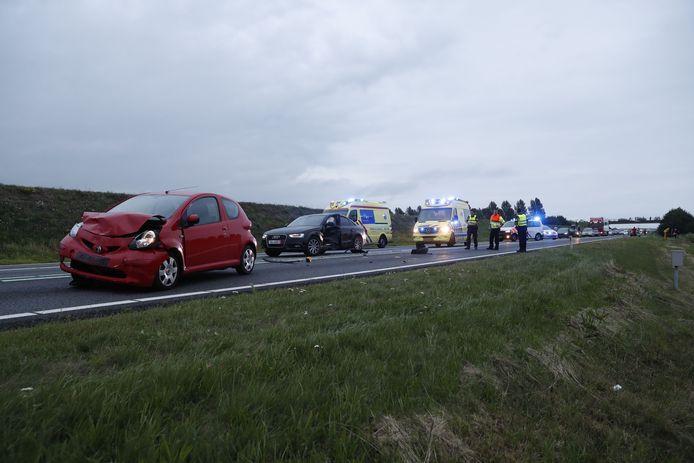 N50 is afgesloten na ongeval