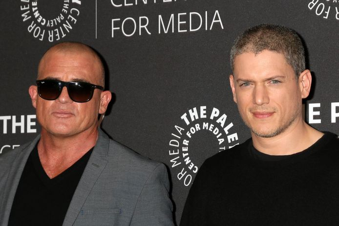 Dominic Purcell en Wentworth Miller.