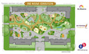 Het vernieuwde plein 'Kindertuin Ketelbinkie'