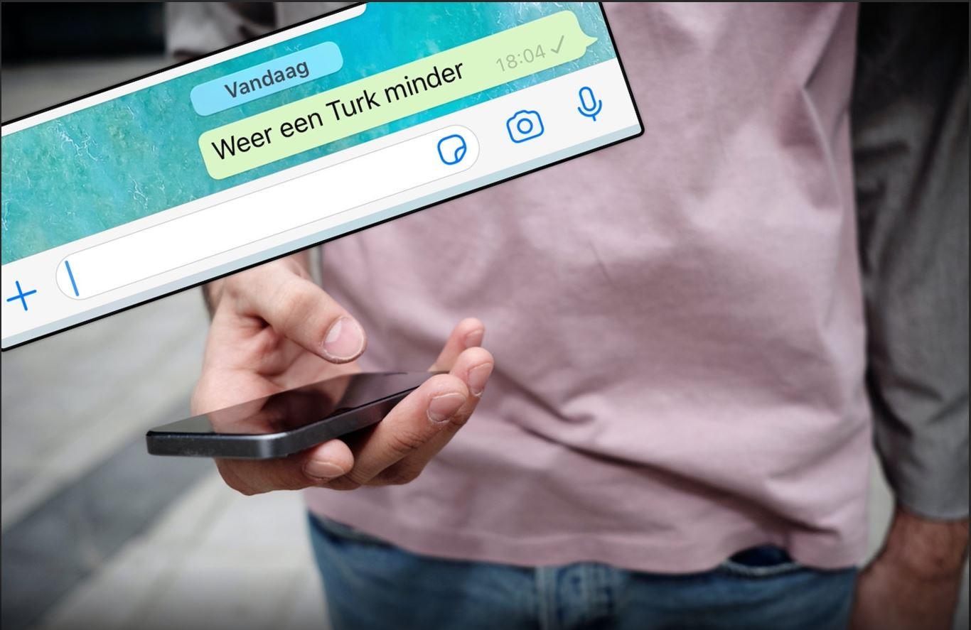Een racistisch appje van agenten na de dood van Humeyra in Rotterdam.