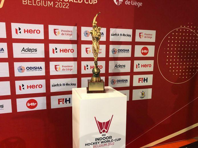 De trofee waarvoor in Luik gestreden zal worden.