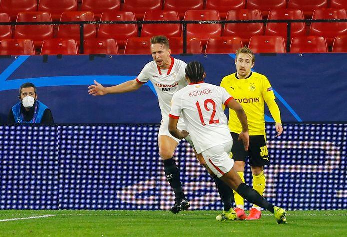 Luuk de Jong na de 2-3.