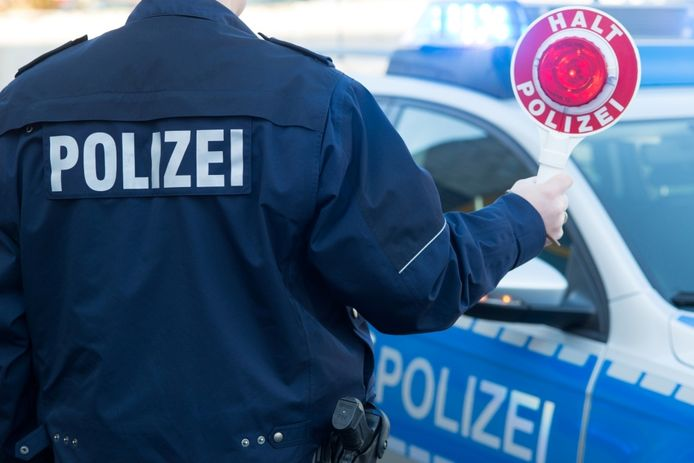 De Duitse politie controleert op en rond 1 mei extra streng langs de grens.