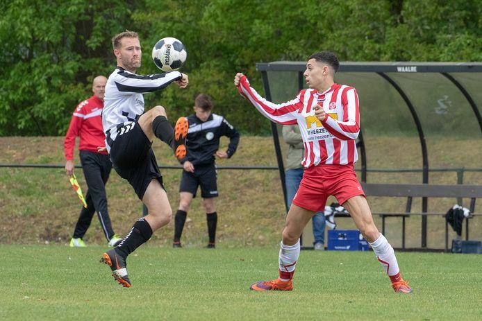 28-04-2019: Voetbal: Waalre v Woenselse Boys: Waalre