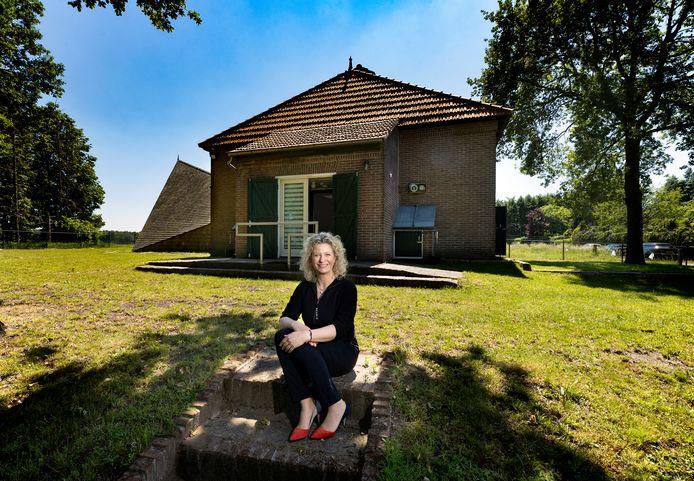 Anja van den Borne, directeur van zorginstelling Comfor, heeft de monumentale aardappelopslag gekocht aan de Rondweg.