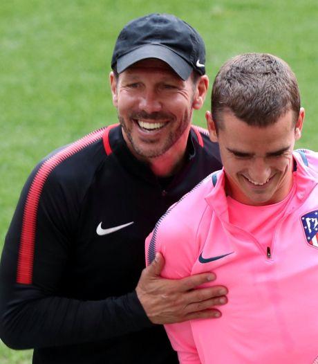 """Simeone défend Griezmann après son retour compliqué: """"Je suis sûr qu'il brillera comme avant"""""""