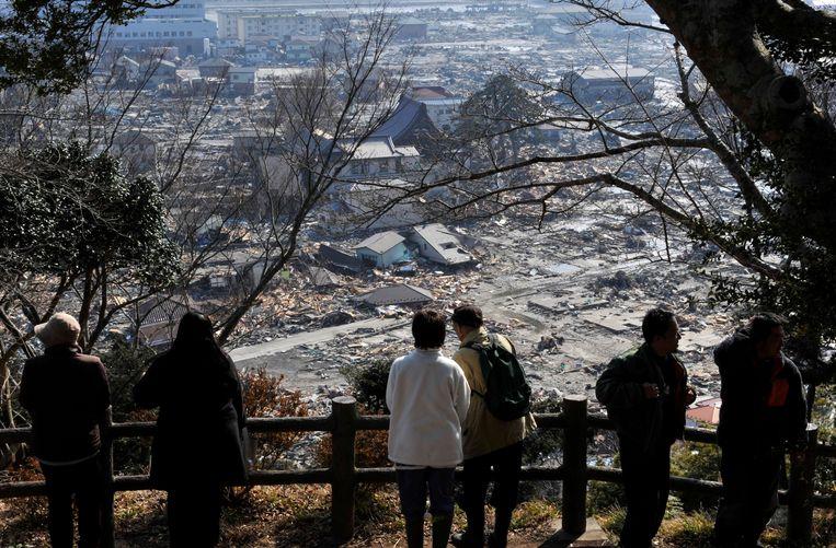 Fukushima in 2011. Beeld EPA