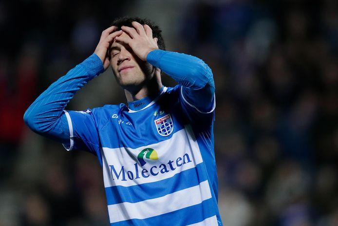 Pelle Clement is nog een twijfelgeval voor FC Utrecht-uit.