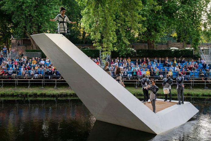 De laatst gehouden Bosch Parade in 2019 met 'Triomf ' van Rob van Dam.