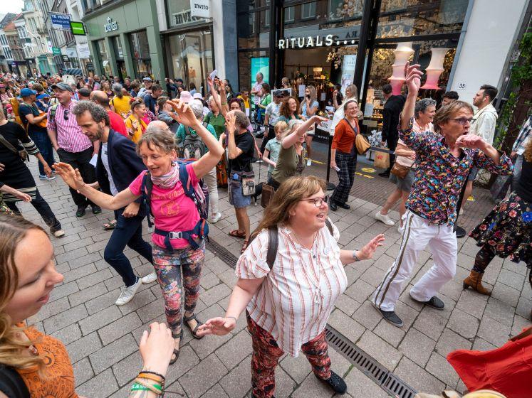Levensvreugde op bijzondere manier gevierd in Arnhem