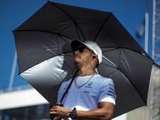 Hamilton laat Bottas in laatste ronde voor: Ik ben een man van mijn woord