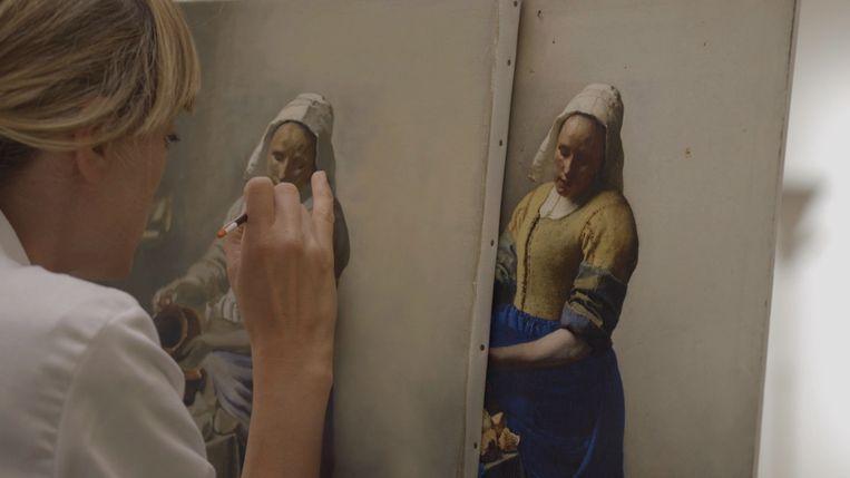 Lisa Wiersma in 'Het geheim van de meester' Beeld AVROTROS