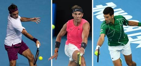 Federer, Nadal of Djokovic? Dit zeggen de cijfers over de grootste tennisser ooit
