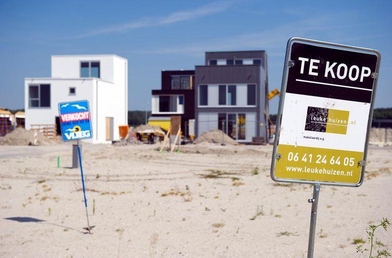 DNB-directeur Job Schwank: 'Je zou willen dat ook zonder die woningmarkt de Nederlandse economie een krachtige groei vertoont.' Beeld anp