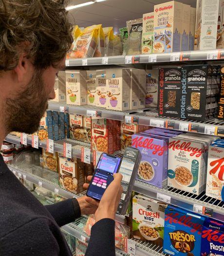 Nieuwe app helpt mensen met een allergie de kleine lettertjes te lezen in de supermarkt
