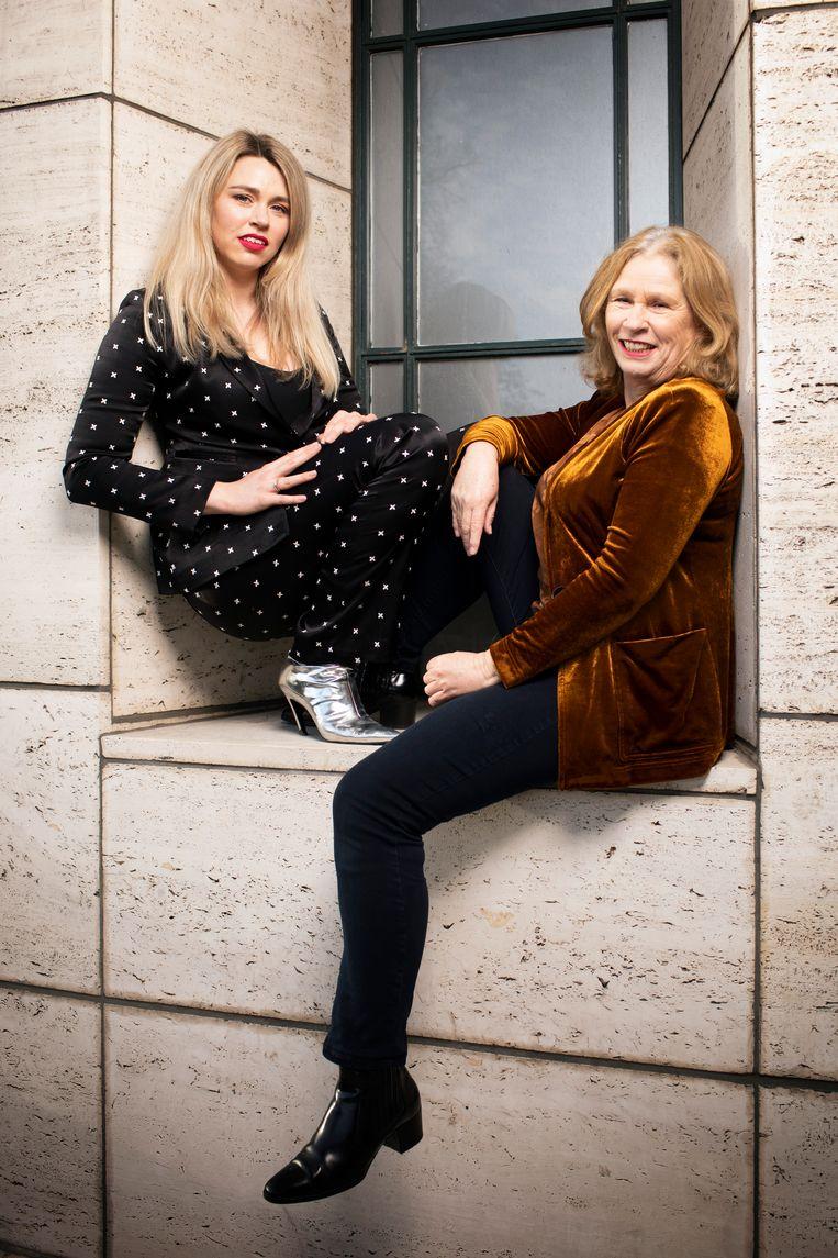 Yvonne & Lisa. Beeld Harmen de Jong