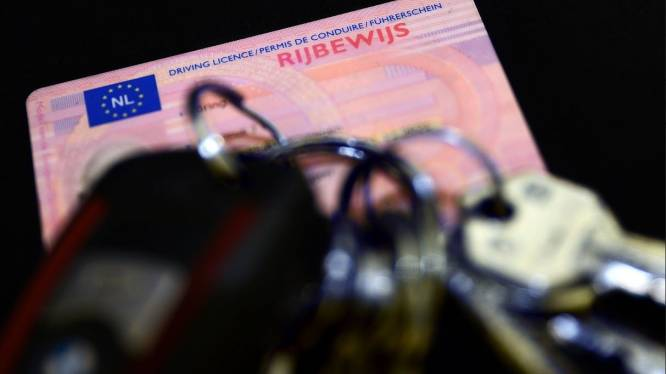 Na vijf dagen al rijbewijs kwijt na controle op A16 bij Breda