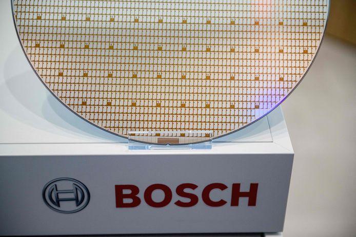 Chips van het type 300 millimeter 'wafer'.