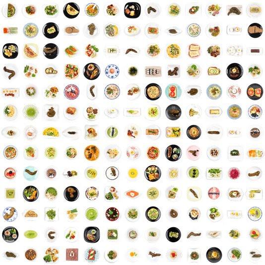 Eten en uitwerpselen: Ursula van de Bunte fotografeerde het allebei voor haar onderzoeks-fotografieproject