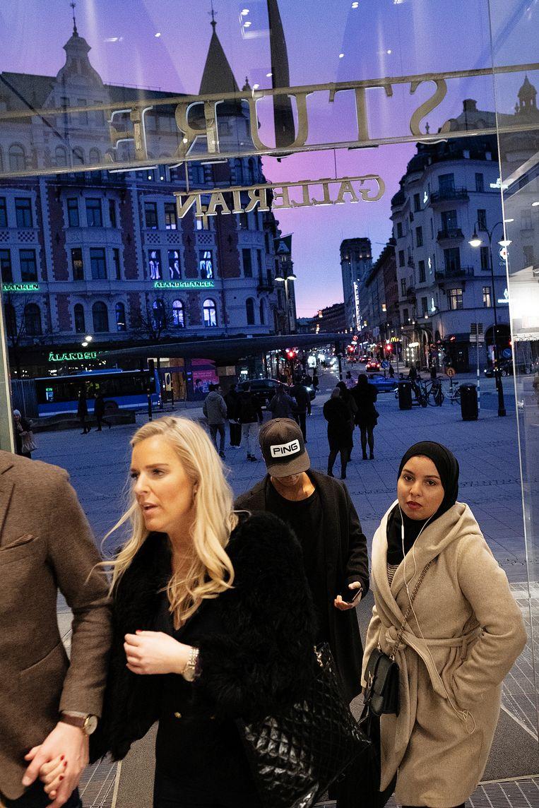 De Zweedse hoofdstad Stockholm heeft twee gezichten. Beeld Daniel Rosenthal / de Volkskrant