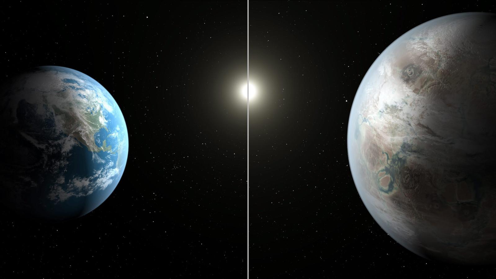 Sommige exoplaneten zijn wel vier keer groter dan de aarde, maar als de omstandigheden juist zijn kan er volgens wetenschappers leven ontstaan