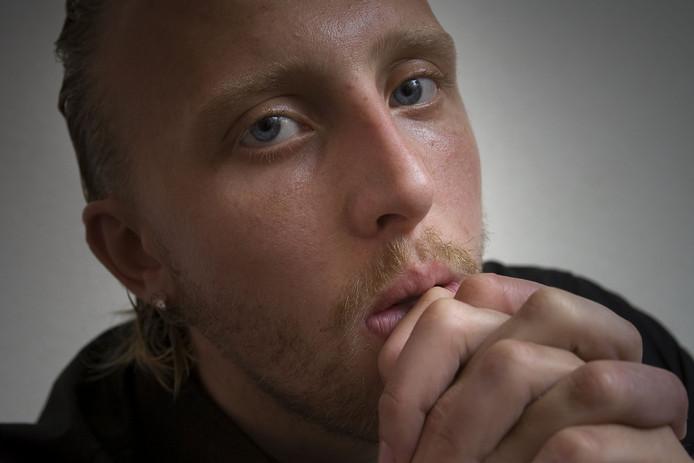 Archiefbeeld van Johan Pater: 'Ergens was het ook wel een soort bevrijding, snap je?'