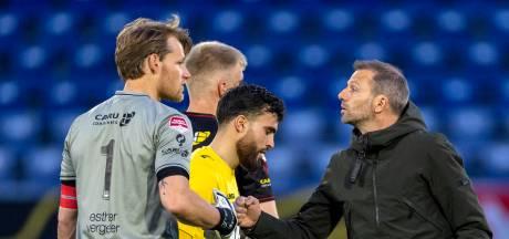 NAC-trainer Steijn houdt vertrouwen: 'Ik heb het gevoel dat het prima zit tussen spelersgroep en staf'