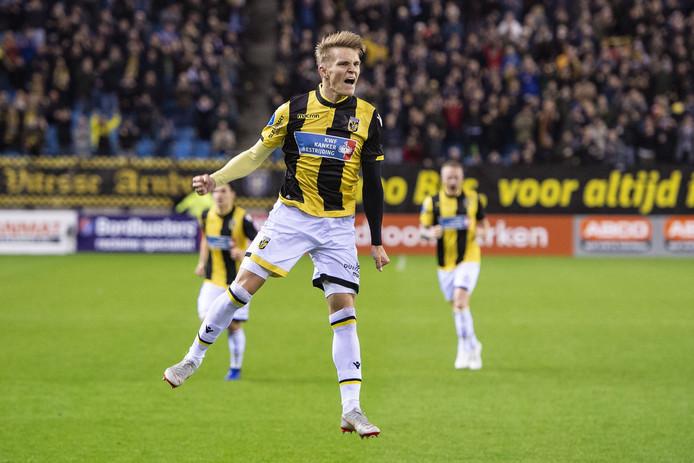 Martin Ødegaard wordt dit seizoen door Vitesse gehuurd van Real Madrid.
