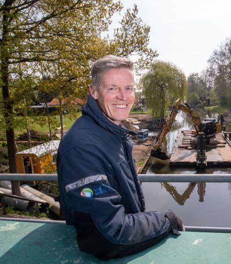 Nieuwe balgstuw is een primeur voor Waterschap Vallei en Veluwe: 'Het Valleikanaal knapt ervan op'