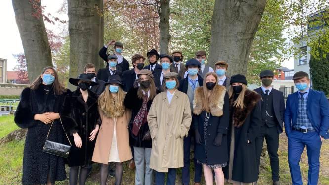 Laatstejaars Bernarduscollege Oudenaarde vieren 50 dagen