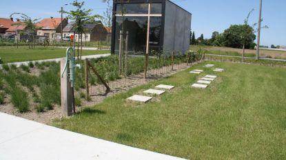 Woumen heeft eerste parkbegraafplaats van Diksmuide