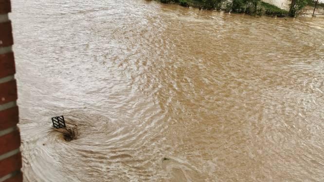 Wateroverlast na wolkbreuk in Tongerse deelgemeenten