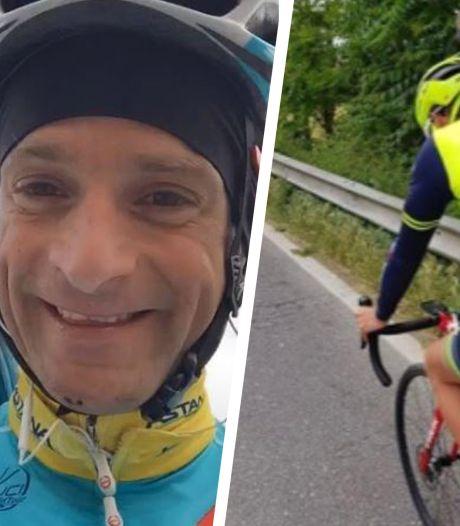 Franky, de trouwe metgezel van Michele Scarponi, heeft een nieuw maatje